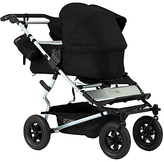 Mountain Buggy Duet Single Family Pack Pushchair, Black