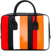 Comme des Garcons striped tote bag - women - PVC - One Size