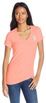U.S. Polo Assn. Juniors' V-Neck Short-Sleeve T-Shirt