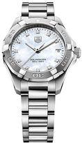 Tag Heuer Ladies Aquaracer Diamond Stainless Steel Bracelet Watch