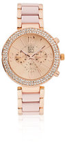 New York & Co. Sparkling Pave Bracelet Watch