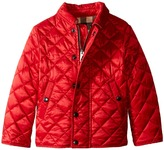 Burberry Kids - Luke Quilted Jacket   Boy's Coat