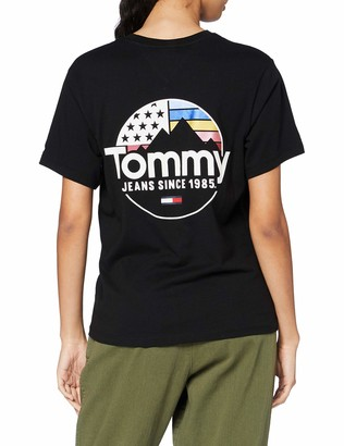 Tommy Jeans Female TJW Circle Mountain TEE Shirt