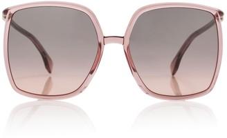 Fendi Oversized acetate sunglasses