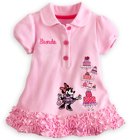 Disney Minnie Mouse Polo Dress and Leggings Set for Baby - Personalizable