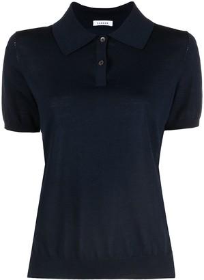 P.A.R.O.S.H. Marled Polo Shirt