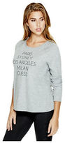 GUESS Women's Minakko Open-Back Pullover