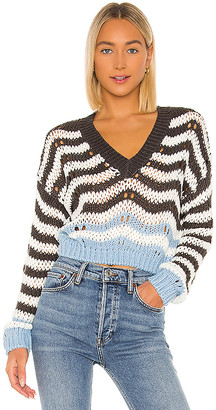 superdown Shira Cropped Sweater