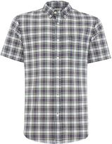 Denim And Supply Ralph Lauren Regular Fit Short Sleeve Check Shirt