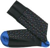 Johnston & Murphy Triangle Confetti Socks