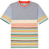 Loewe Striped Cotton-Jersey T-Shirt