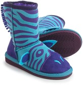 Muk Luks Zeb Zebra Boots (For Little Kids)