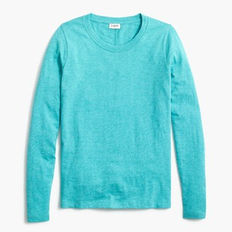 J.Crew Long-sleeve crewneck girlfriend tee