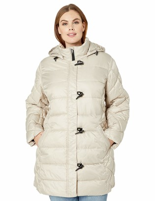 Big Chill Women's Multi-Quilted Puffer Coat with Hood