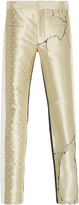 Haider Ackermann Cropped Leather Trousers