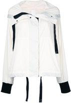 DKNY concealed placket jacket - women - Nylon - XS/S