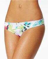 Bar III Tropical Cheeky Hipster Bikini Bottoms, Created for Macy's