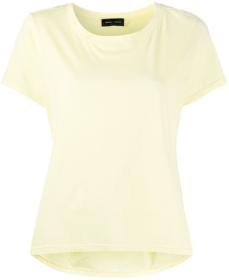 Roberto Collina scoop neck loose fit T-shirt