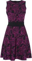 Karen Millen Floral Knit Dress - Pink/multi