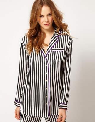 Juicy Couture Angel Stripe Shirtdress-Multi