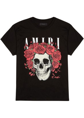 Amiri Grateful Dead Skull printed cotton T-shirt