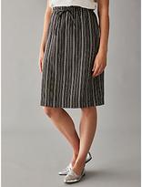 People Tree Gia Skirt, Black/White