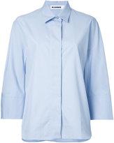 Jil Sander cropped sleeves shirt