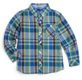 Hartstrings Toddler's & Little Boy's Plaid Woven Shirt