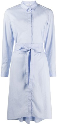Peserico tie-fastening shirt dress