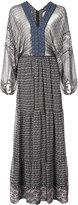 Ulla Johnson tassel detail maxi dress - women - Silk/Polyester - 10