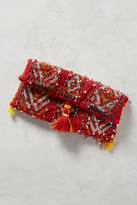 Anthropologie Vintage Kilim Clutch