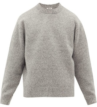 Acne Studios Kael Crew-neck Wool-blend Sweater - Grey