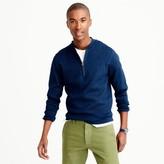 J.Crew Half-zip indigo sweater