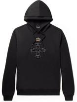 Dolce & Gabbana - Embellished Loopback Cotton-jersey Hoodie