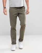 Sisley Slim Fit Chino with Tapered Leg