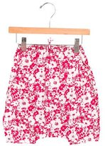 Makie Girls' Sleeveless Floral Print All-In-One