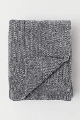 H&M Chenille Throw - Gray