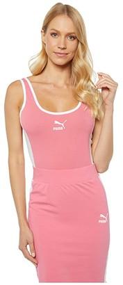 Puma Classics T7 Bodysuit (Bubblegum) Women's Jumpsuit & Rompers One Piece