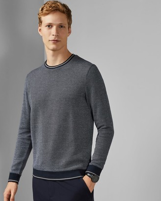 Ted Baker Diagonal Stripe Sweatshirt
