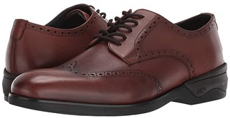 Johnston & Murphy Waterproof XC4(r) Elkins Casual Wing Tip Oxford (Tan Leather) Men's Shoes