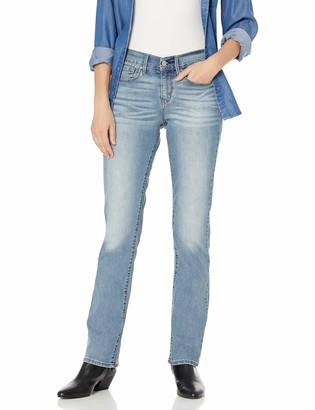 Signature by Levi Strauss & Co. Gold Label Signature by Levi Strauss & Co Women's Curvy Straight Jeans