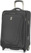 "Travelpro Crew 11 22"" Carry-On Expandable Rolling Suitcase with USB charging port"