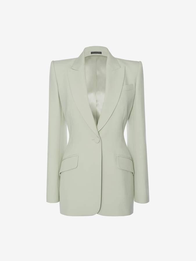 Alexander McQueen Wool Silk Jacket