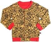 Mini Rodini Reversible Organic Cotton Jersey Jacket