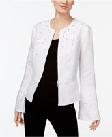 INC International Concepts Embellished Peplum Jacket, Created for Macy's