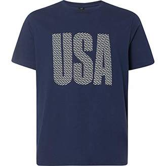 Oakley Men's USA Allover TEE