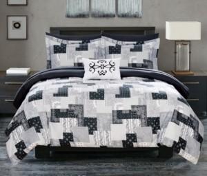 Chic Home Millennia 8 Piece Queen Bed In a Bag Comforter Set Bedding