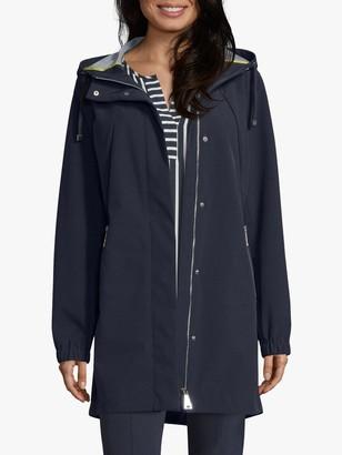 Betty Barclay Hooded Zipped Jacket, Deep Navy