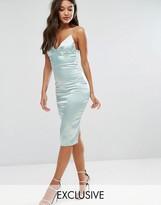 Club L Satin Cami Midi Dress