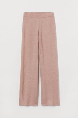 H&M Knit Wool-blend Pants